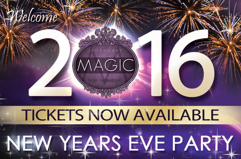 tickets for new years eve at magic lounge club are now on sale we have limited seating this year so for all those who wish to celebrate the new year with