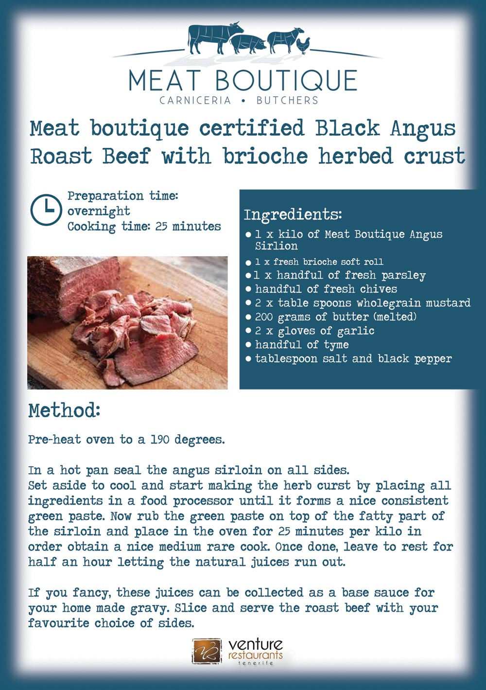Meat Boutique Certified Black Angus